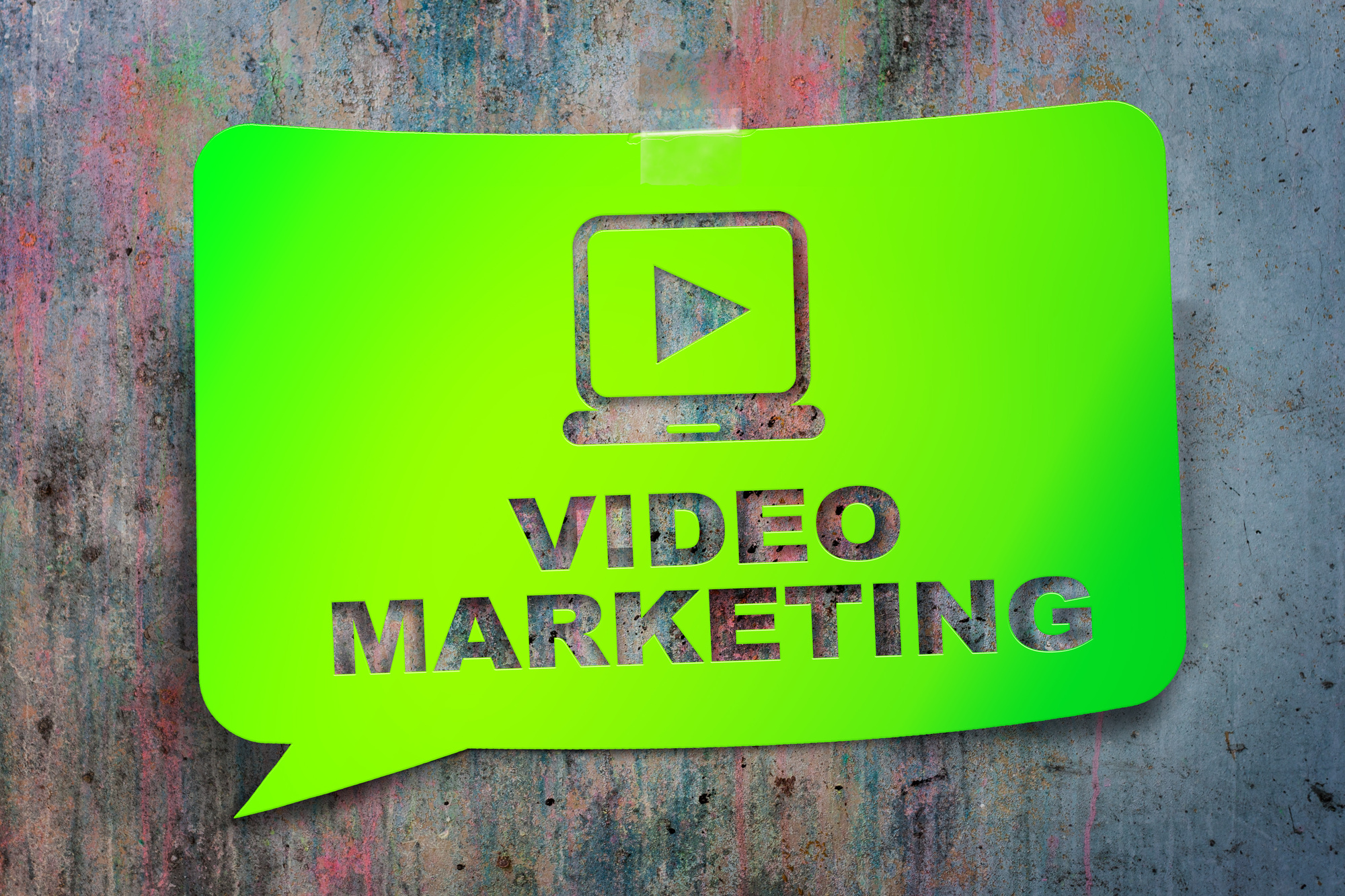 Video E-mail Marketing verde