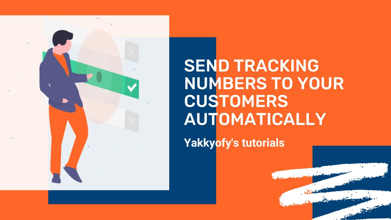 Come inviare i codici di tracciamento ai tuoi clienti in automatico