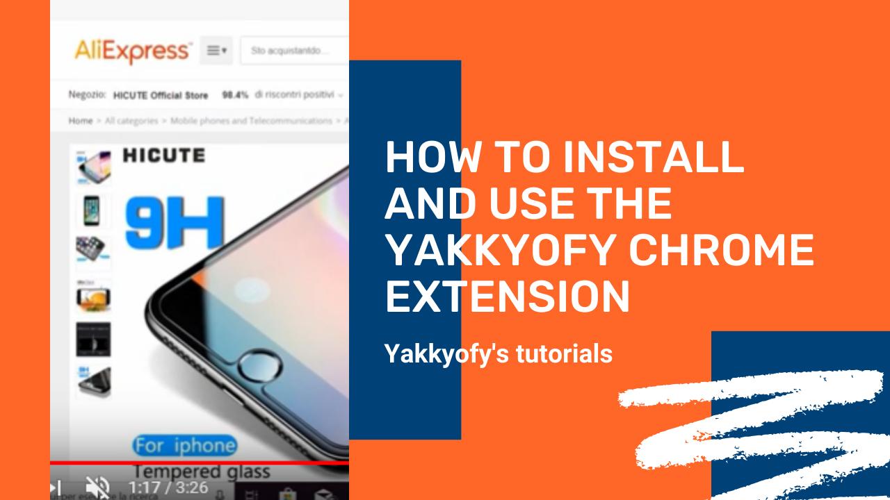 Come installare e usare l'Estensione Chrome di Yakkyofy
