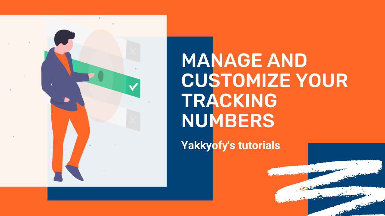 How to manage and customize the tracking numbers of your dropshipping orders