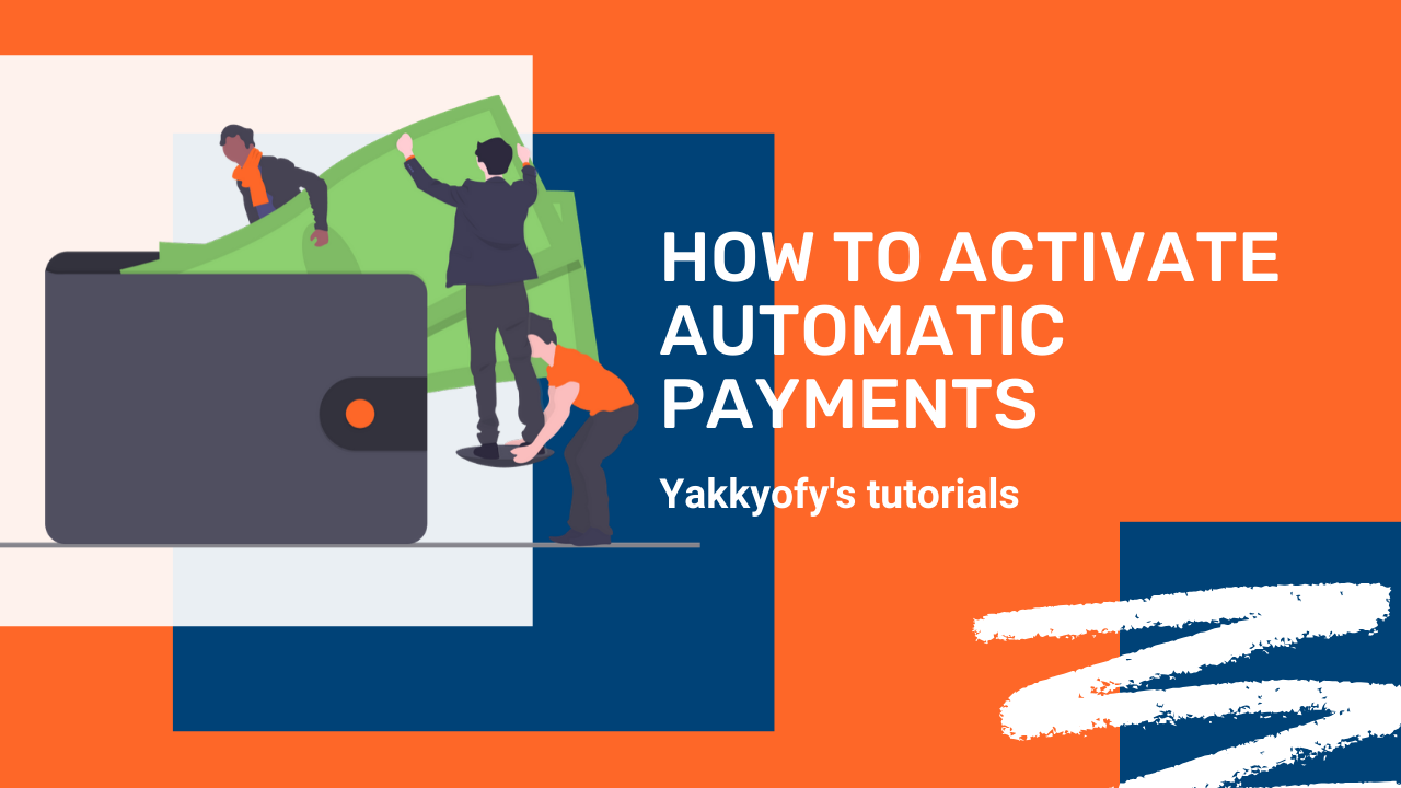 How to activate automatic payments with the eWallet