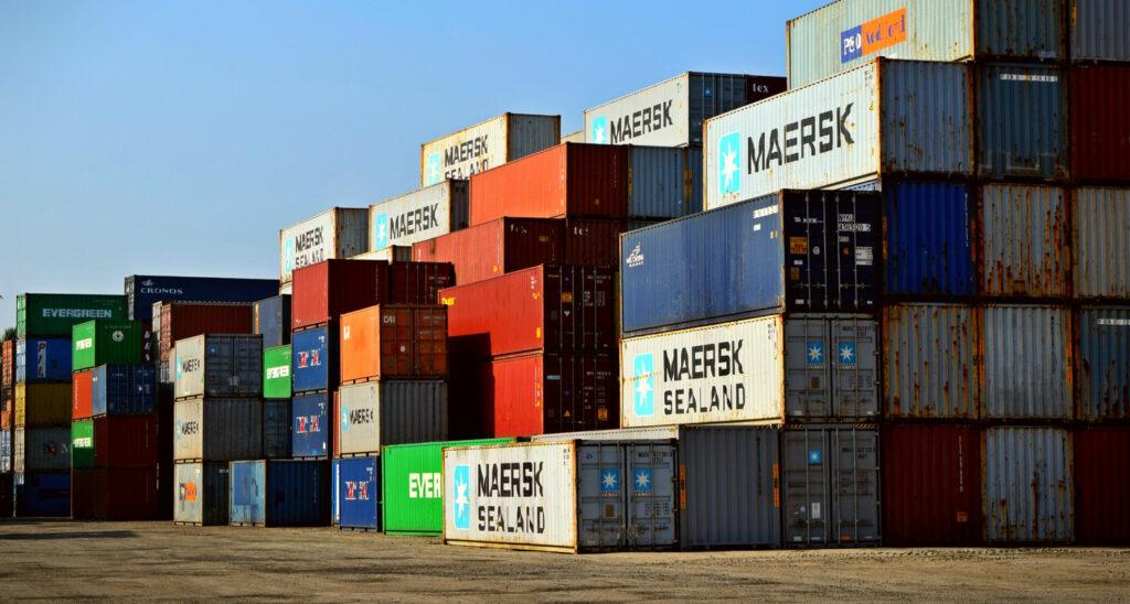 trasporto container maersk
